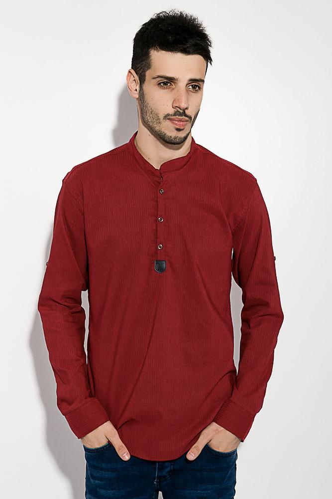 Рубашка мужская однотонная 511F005-4