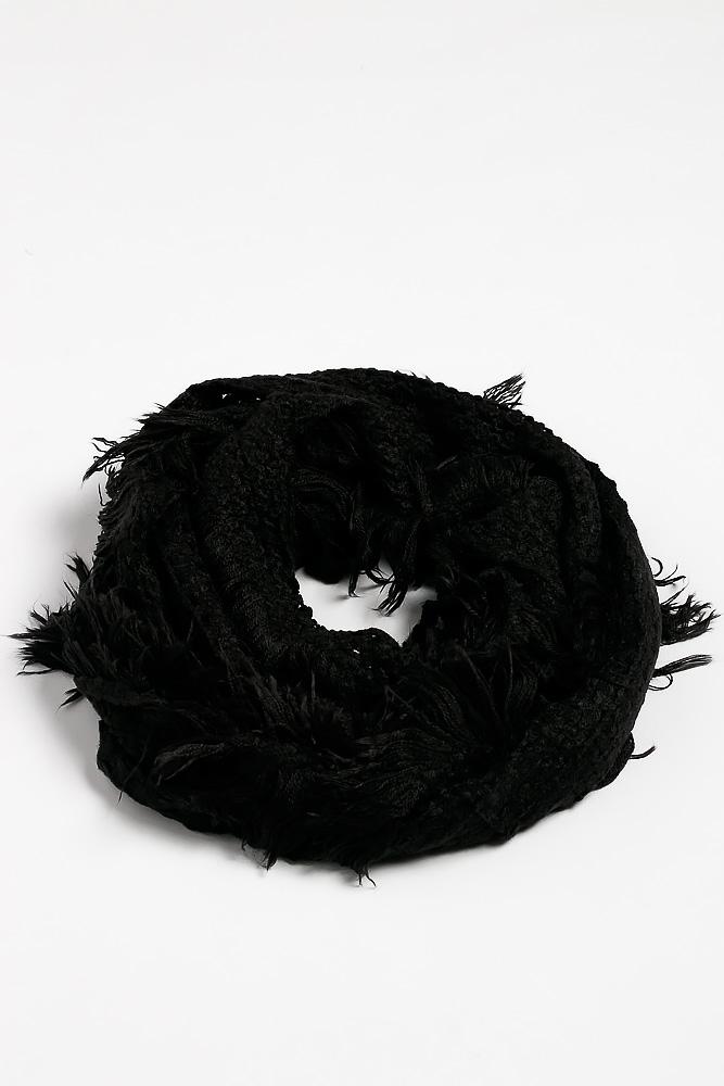 Вязаный женский шарф 120PROS005