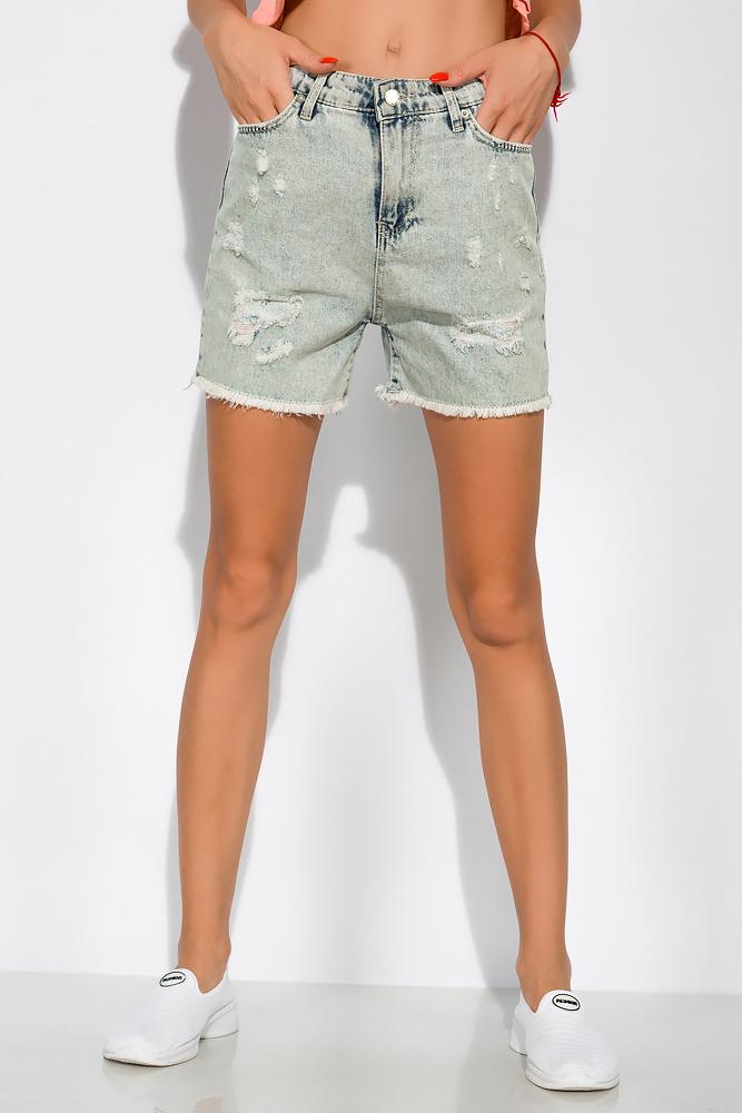 Джинсовые шорты в стиле Casual 162P033