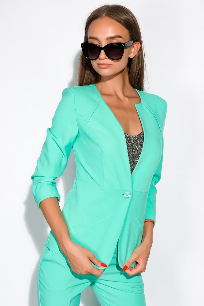 Пиджак женский приталенный 150P020