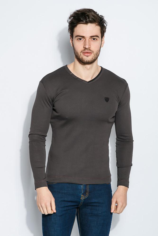 Пуловер мужской V-образный вырез 415F011