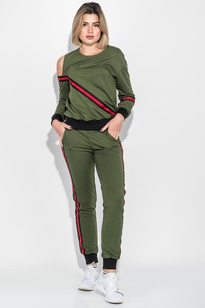 Костюм женский спорт с открытым плечом 76PD1116