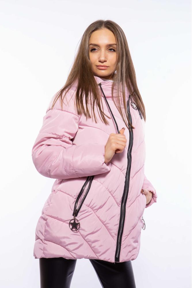 Куртка женская с косой молнией 120PSKL8018
