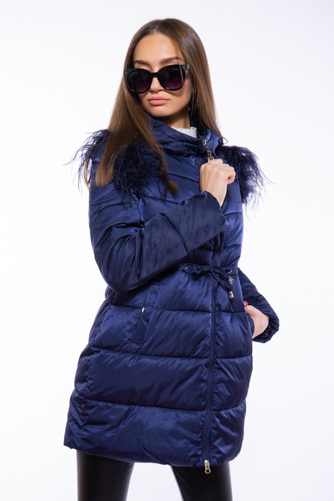 Куртка женская с перьевой отделкой 120PSKL2205