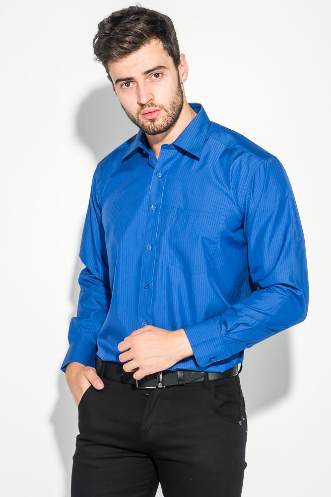 Рубашка мужская в крупную полоску 50PD0872-11