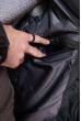 Куртка однотонная 191P98854 темно-зеленый