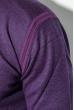 Джемпер мужской однотонный 50PD480 фиолетовый