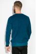 Джемпер с мелкими вкраплениями 520F005 темно-бирюзовый / синий