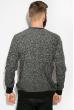 Джемпер с мелкими вкраплениями 520F005 черно-серый