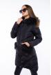 Стеганая женская куртка 120PSKL2988 черный