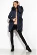 Стеганая женская куртка 120PSKL2988 темно-синий