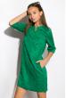 Платье женское 120P121 зеленый