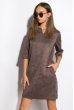 Платье женское 120P121 ореховый