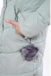 Куртка женская однотонная 120PSKL171105 мятный