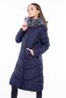 Куртка женская однотонная 120PSKL171105 темно-синий