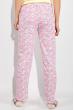 Пижама женская 317F025 желто-розовый