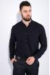 Рубашка мужская, однотонная 511F009 чернильный