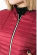 Куртка женская демисезонная 80PD1203 бордо