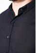 Деловая однотонная рубашкка 511F018 синий