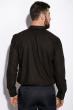 Деловая однотонная рубашкка 511F018 черный