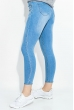 Джинсы женские по фигурке 516K003 голубой