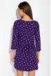 Ночная женская сорочка 107P13-1 фиолетово-белый / белый