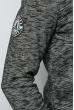 Батник мужской стильный 630K011 грифельный