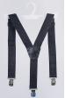 Подтяжки классические мужские №23P007 черный