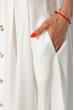 Костюм (топ на бретелях и юбка миди) 120PVC198 молочный