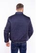 Куртка стеганая 187P473 темно-синий