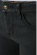 Джинсы женские зимние,в темном оттенке 19PL127 грифельный