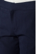 Брюки женские классические 392F007 темно-синий