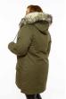 Парка женская 120P252-3 коричневый