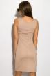 Платье 83P1217 бежевый