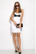 Платье 83P1217 белый