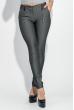 Брюки женские в полоску, skinny 64PD48-4 черно-белый / полоска