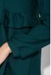 Платье женское свободного покроя 72PD149 бутылочный