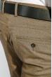 Брюки мужские зауженный крой 408F001-1 песочный