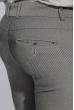 Брюки мужские зауженный крой 408F001-1 темно-серый