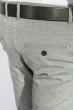 Брюки мужские зауженный крой 408F001-1 светло-серый