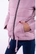 Куртка женская 184P8803 бледно-лиловый