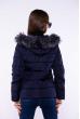 Куртка женская 184P8803 темно-синий
