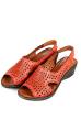 Босоножки женские 106P5063-1 красный