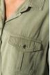 Рубашка женская свободного покроя 270V001 хаки