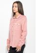 Рубашка женская свободного покроя 270V001 коралловый