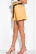 Модные женские шорты 153P127 горчичный
