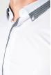 Рубашка мужская стильный манжет 50PD3295 белый