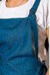Комбинезон женский 121P005 летний светло-синий