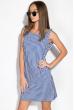 Платье 120P378 сине-белый