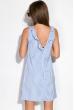 Платье 120P378 бело-голубой